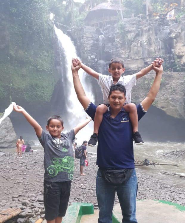 tegenungan waterfall, bali esa drivers, tour murah di bali, travel murah di bali